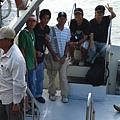 2007台大地理畢旅團去南海船上