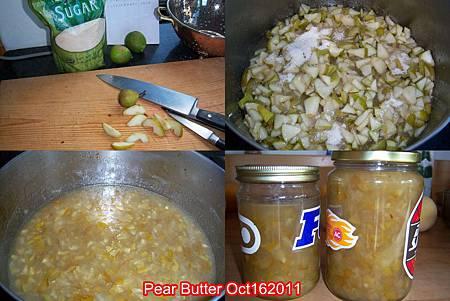 Pear Butter Oct162011