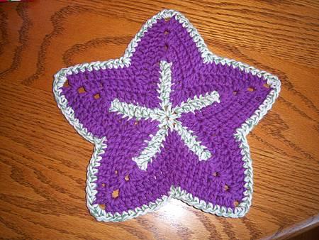 Starfish Dishcloths Aug312011