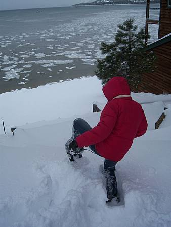Feb172011 SLT-snowshoeing