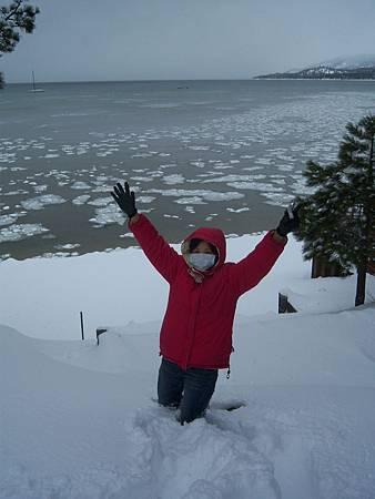 Feb172011 SLT-snowshoeing - YA!