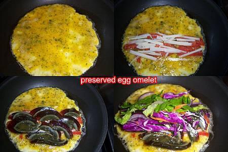 Dec052011 preserved egg omelet-SOP
