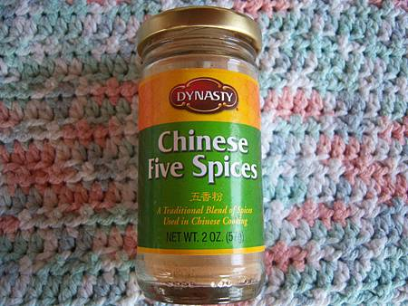 Dec132011 五香粉 chinese five spices