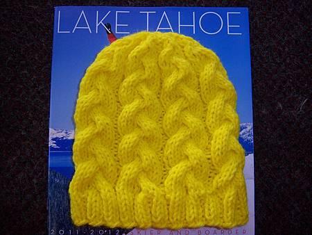 Jan252012 Braided Hat - yellow