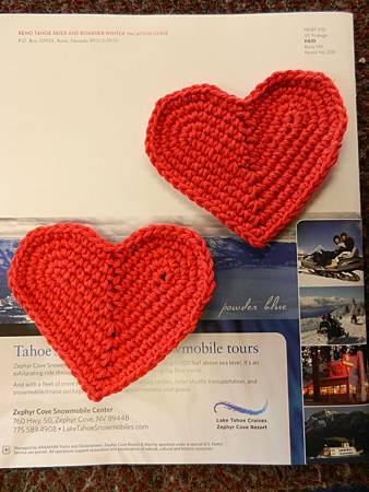 心心相印杯墊 Heart-to-Heart coasters