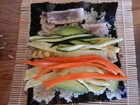 Sep042012 捲壽司-豐盛版