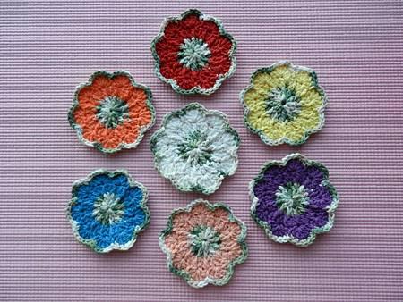 Sep102012 Springtime Coasters - green