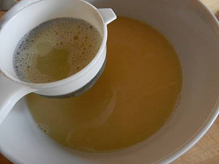 Sep162012 過篩蛋液