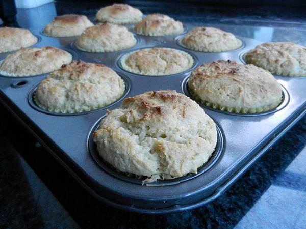 Dec072012 無麩質青檸檬杯子蛋糕