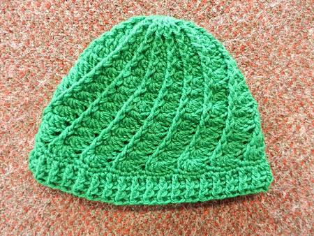 Jan212013 Divine Hat - Christmas Tree Green