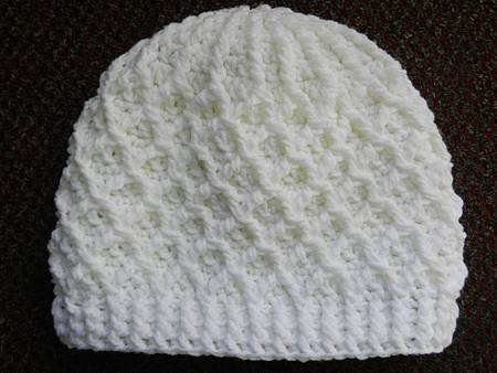 Jan172013 Lattice Hat - white