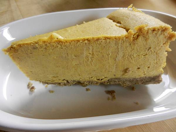 gluten free pumpkin cheesecake 無麩質南瓜乳酪蛋糕