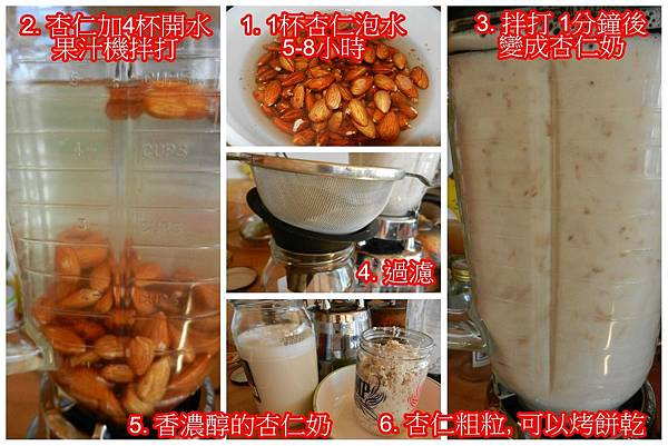 Apr192013 Raw Almond Milk 生杏仁奶
