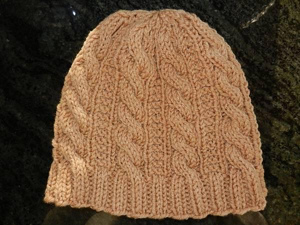 Oct142013 Gingerbread Hat - brown