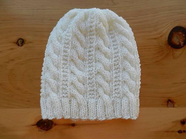 Nov012013 Gingerbread Hat - white