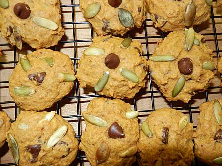 Nov282013 pumpkin chocolate chip cookies