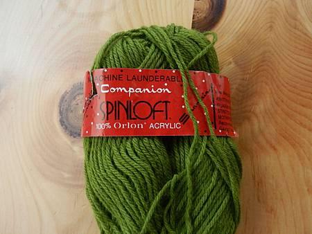 Companion spinloft, 100% Orlon Acrylic, green