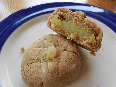 Apr252014 vegan Taiwan pineapple-cake-cross section