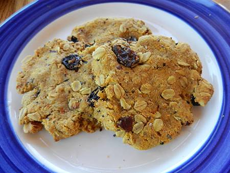 May022014 Vegan Carrot Oatmeal Raisin Cookies