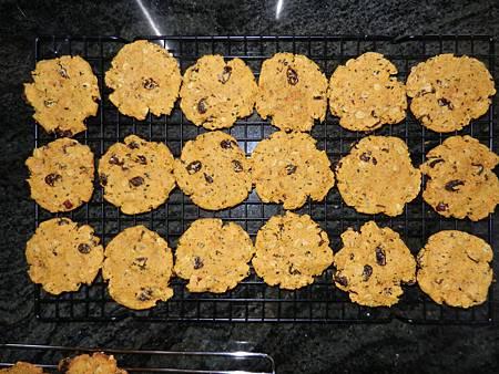 May022014 純素紅蘿蔔燕麥葡萄乾餅乾