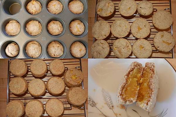 Sep062014 mango cake in muffin tin