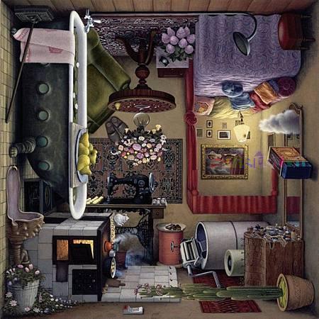 1000-Teile-Puzzle-Quadratpuzzle-Jacek-Yerka-Baudoir
