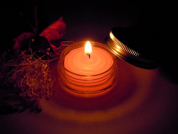 小粉紅蠟燭