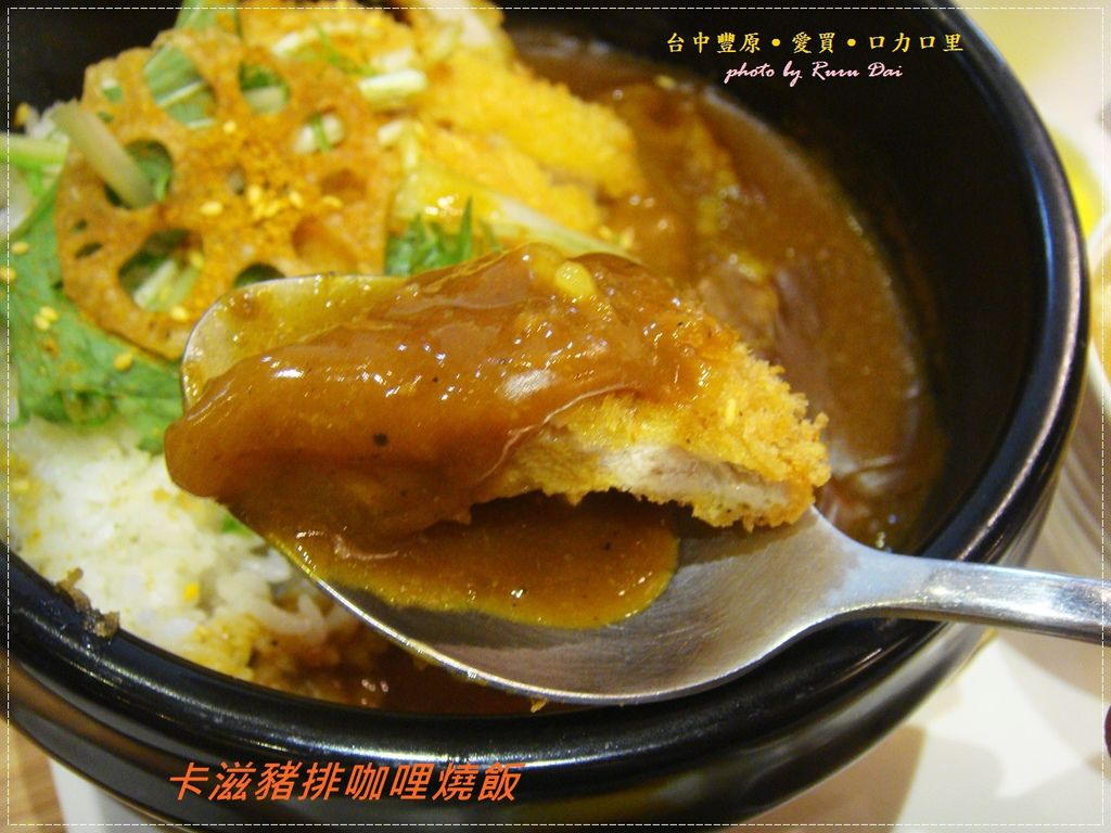 卡滋豬排咖哩燒飯 (2)