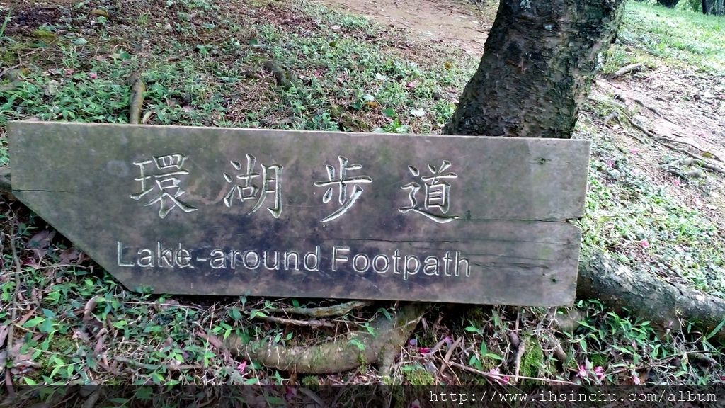 角板山生態池環湖步道
