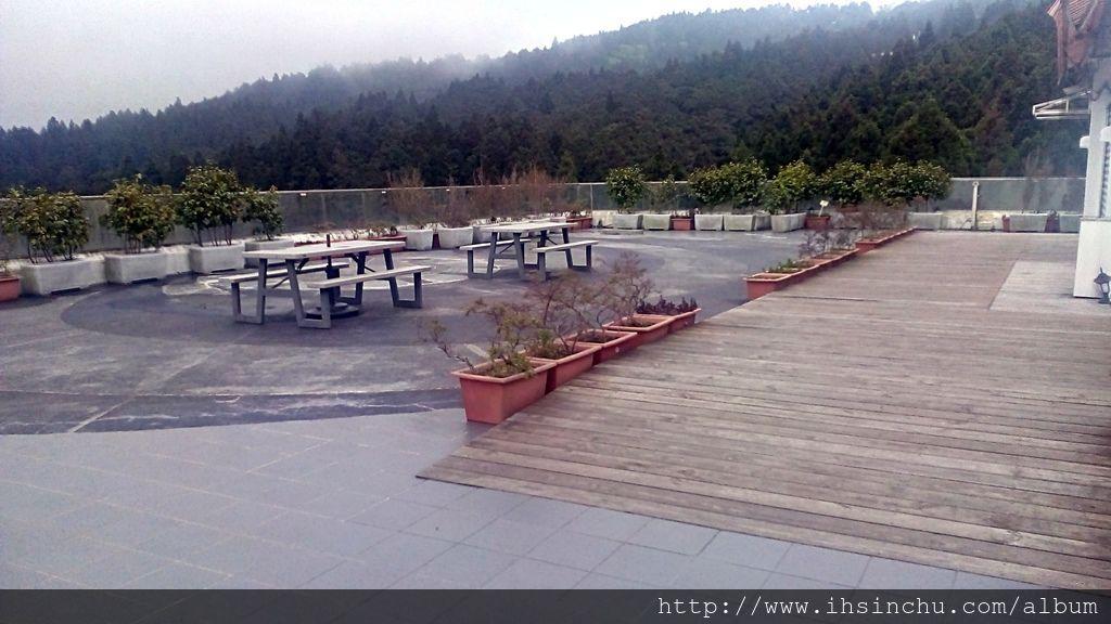阿里山賓館頂樓空中花園