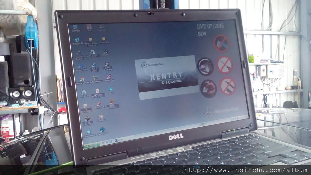 新竹修車廠推薦泳輪汽車-賓士原廠診斷電腦Xentry