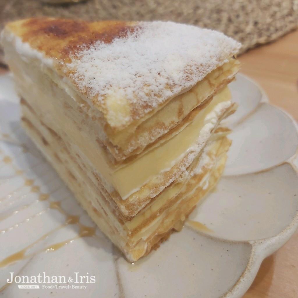 焦糖布丁千層蛋糕