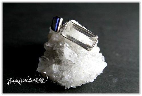 青金石白水晶靈礦!