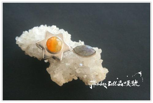 黃蛋白石+拉長石,晶簇淨化床。