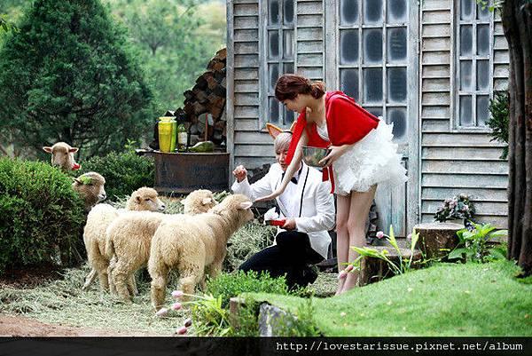 酒窩夫婦婚紗照1