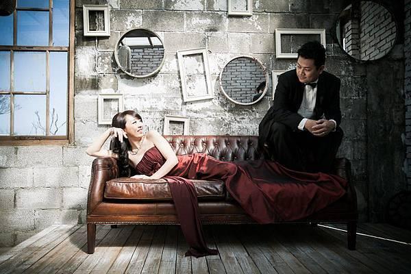 自助婚紗攝影工作室【主題攝影】1+1愛的故事館手工婚紗