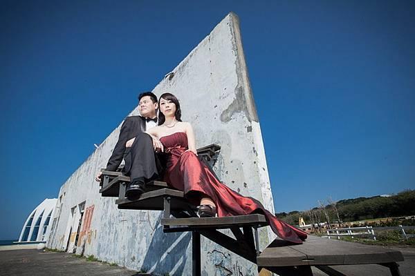 自助婚紗[Clare&Kevin]時光之牆