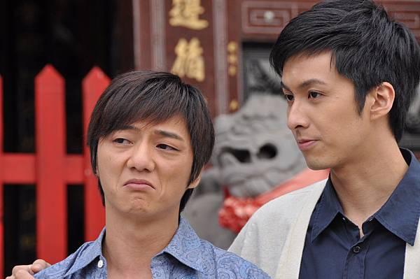 藍葦華在劇中飾演梁家榕的弟弟廖成).JPG