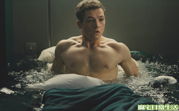 taron egerton as eggsy in KINGSMAN