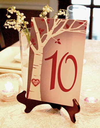 Table card 13