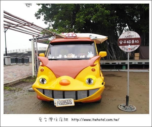 龍貓出現在台南! 安平貓小巴