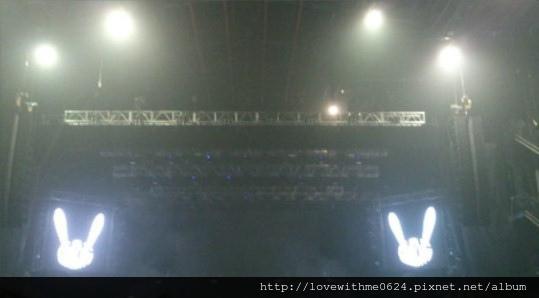 BAP concert stage