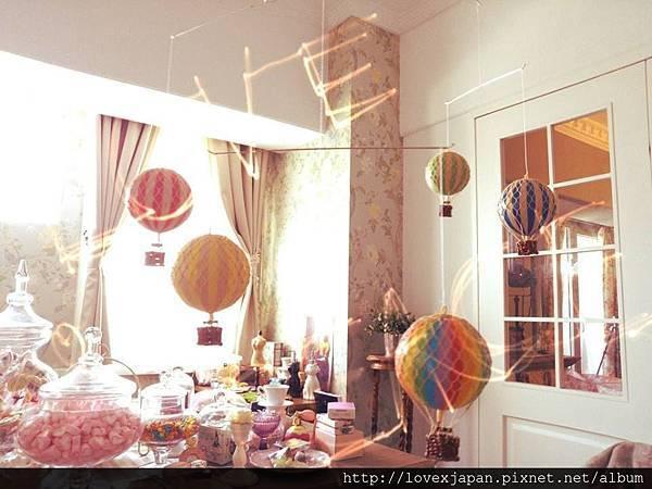 五彩熱氣球