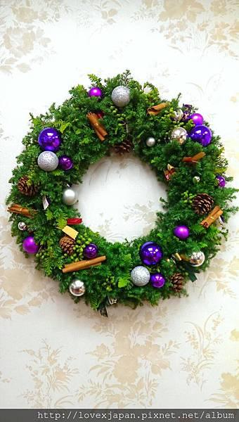 2013 聖誕花圈