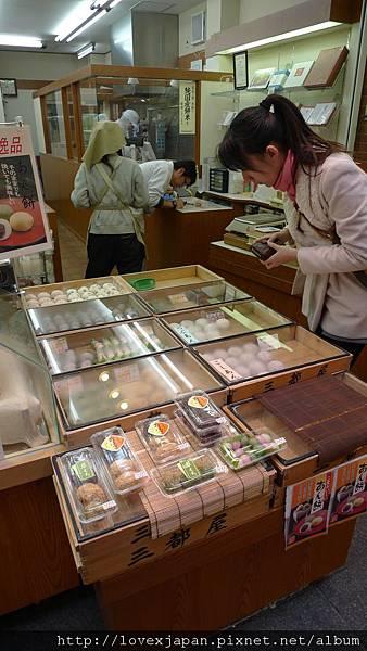 吃日式甜點