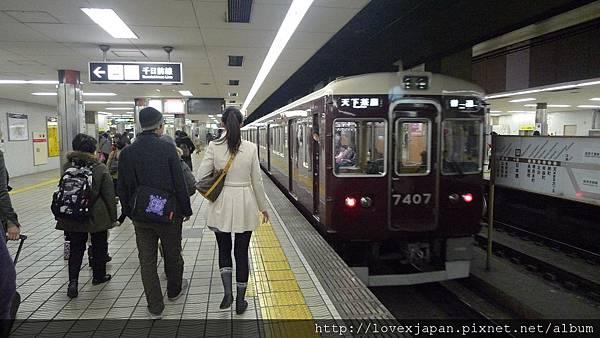 復古又好看的地下鐵車廂