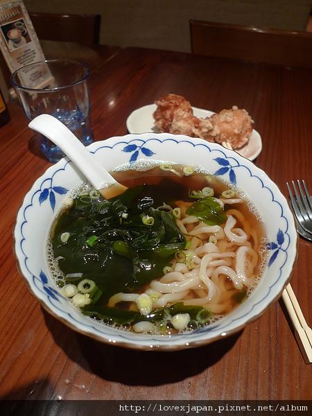 日式炸雞烏龍麵