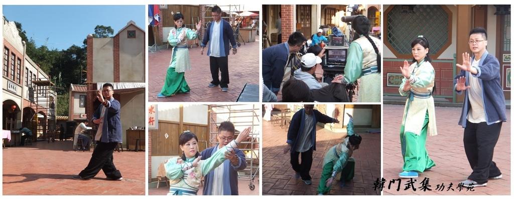 龍飛鳳舞-方馨學習宮氏八卦掌