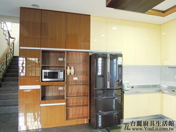 廚具案例分享-完工後電器櫃