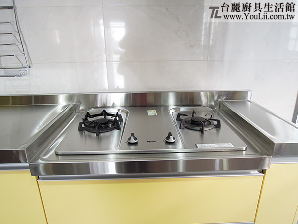 廚具設計分享-爐台檯面降低設計